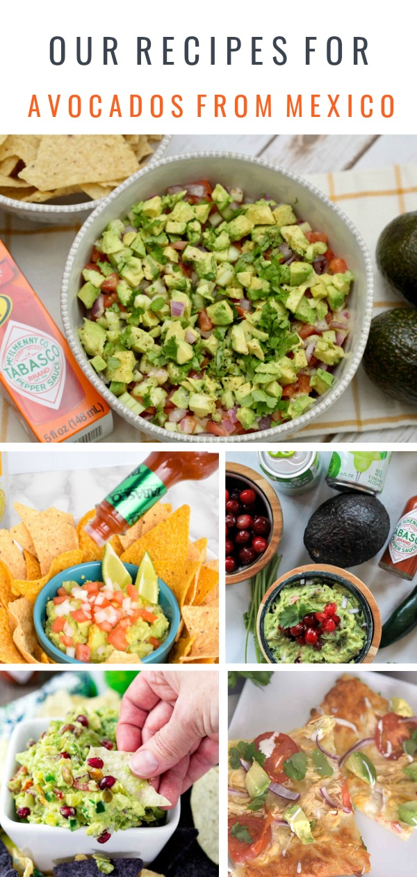 Our Recipes for Avocados From Mexico