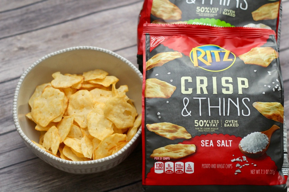 RITZ Crisp and Thins Open in Dish