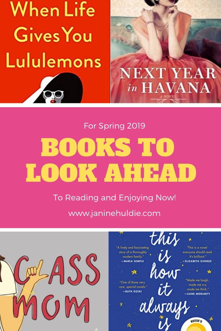 4 Books to Look Forward to Spring 2019