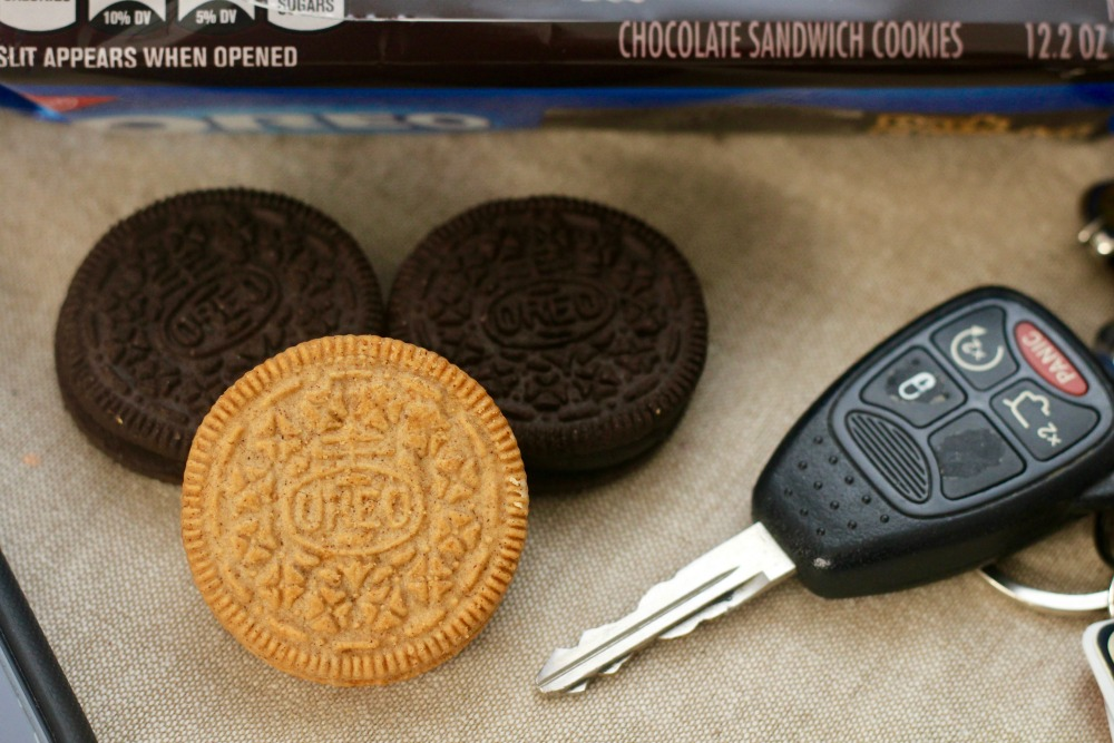 Car Key with OREOs