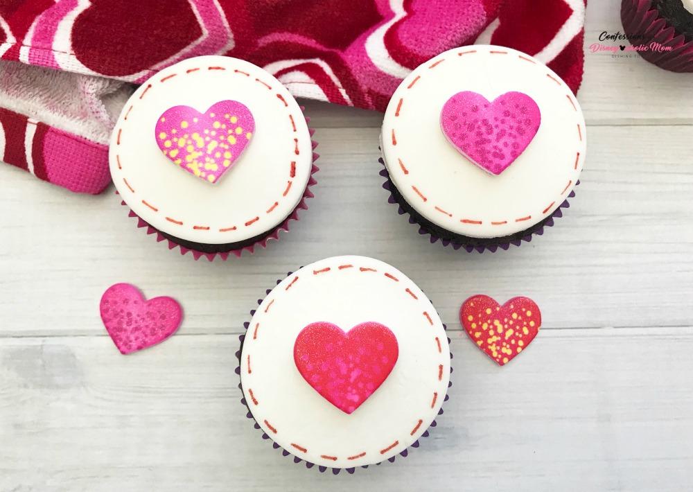 Love Stitch Cupcakes Recipe