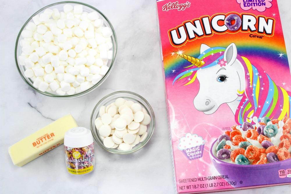 Unicorn Froot Loops Treats Ingredients