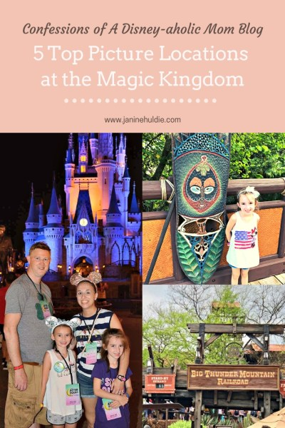 5 Top Picture Locations at the Magic Kingdom