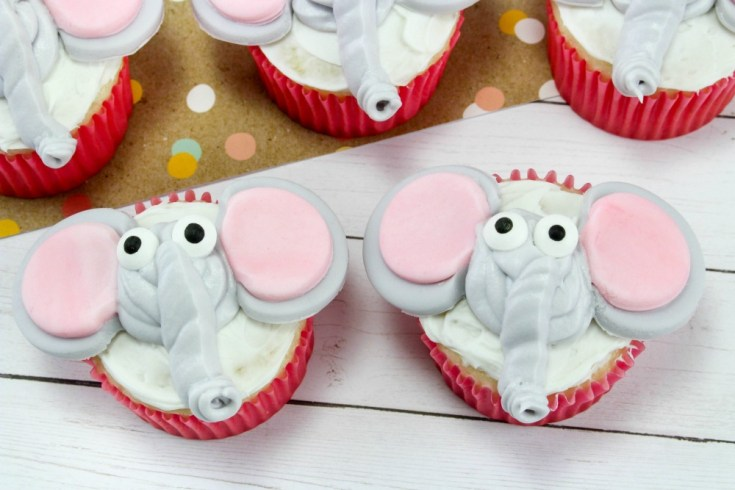 Disney's Inspired Dumbo Cupcakes Recipe Tutorial
