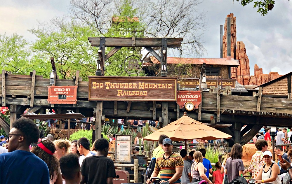Magic Kingdom Big Thunder Railroad