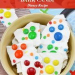 Mickey Mouse Bark Candy Recipe Tutorial