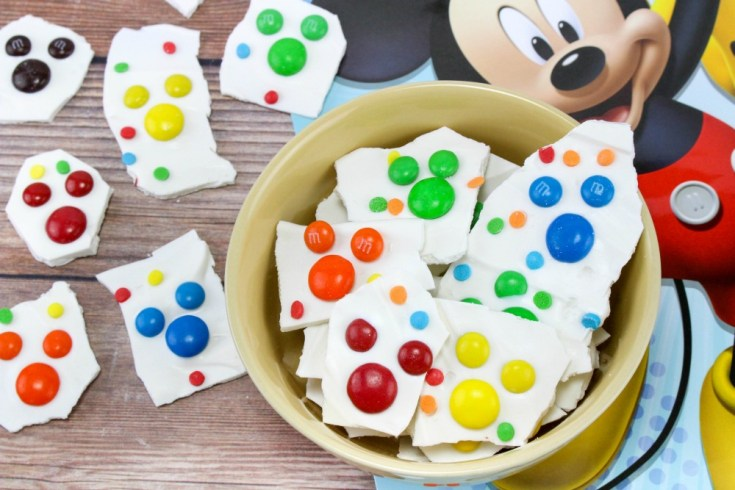 Mickey Mouse Bark Candy Recipe