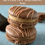 Reese's Peanut Butter Cup Macarons Recipe Tutorial