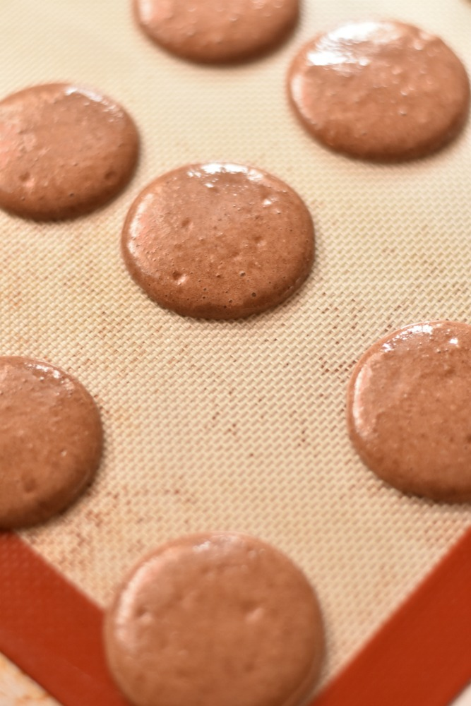 Reeses Peanut Butter Cup Macarons Recipe Step 1