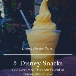 Can't Miss Disney Snacks Found at Walt Disney World