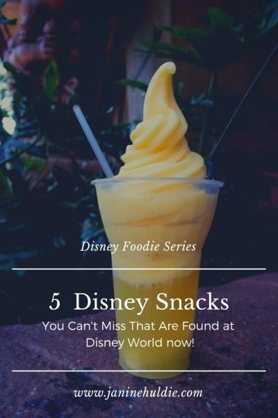 5 Can't Miss Disney Snacks Found at Disney World