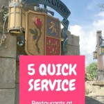 Single Credit Quick Service: 5 Best Restaurants for Your Walt Disney World Dining Plan