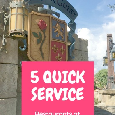 5 Quick Service Restaurants at Walt Disney World