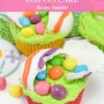 Cracked Easter Egg Cupcakes Recipe Tutorial