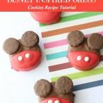 Mickey Mouse OREO Cookies Disney Inspired Recipe Tutorial