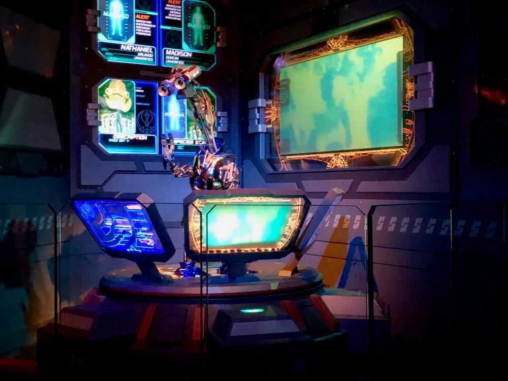 Inside Star Tours in Hollywood Studios