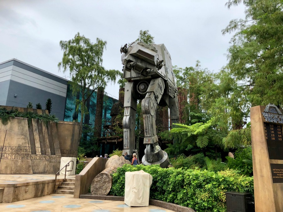 Outside of Star Tours in Hollywood Studios