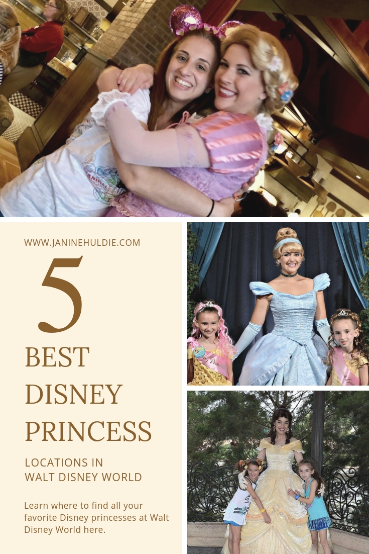 5 Best Disney Princess Locations in Walt Disney World