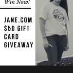 Win a $50 Gift Card from Jane.com – Find Out How Here