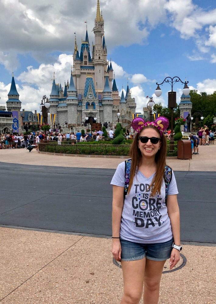 Me in Front of Magic Kingdom Cinderellas Castle