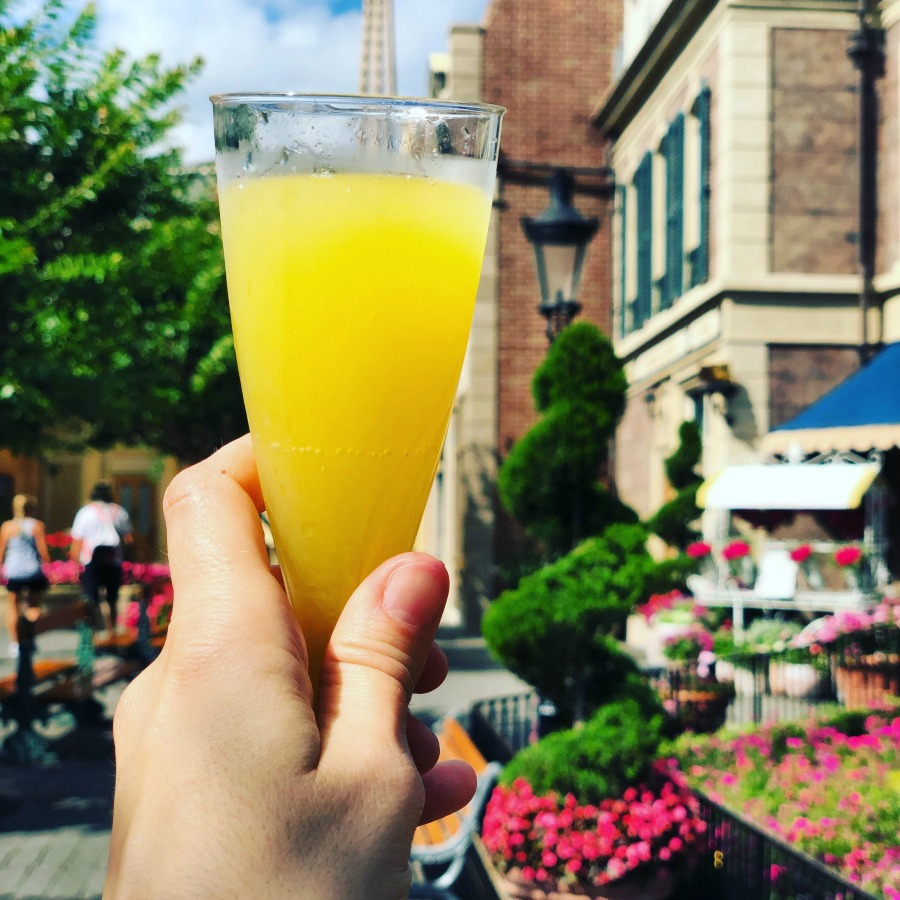 Mimosas in Epcot France The World Showcase