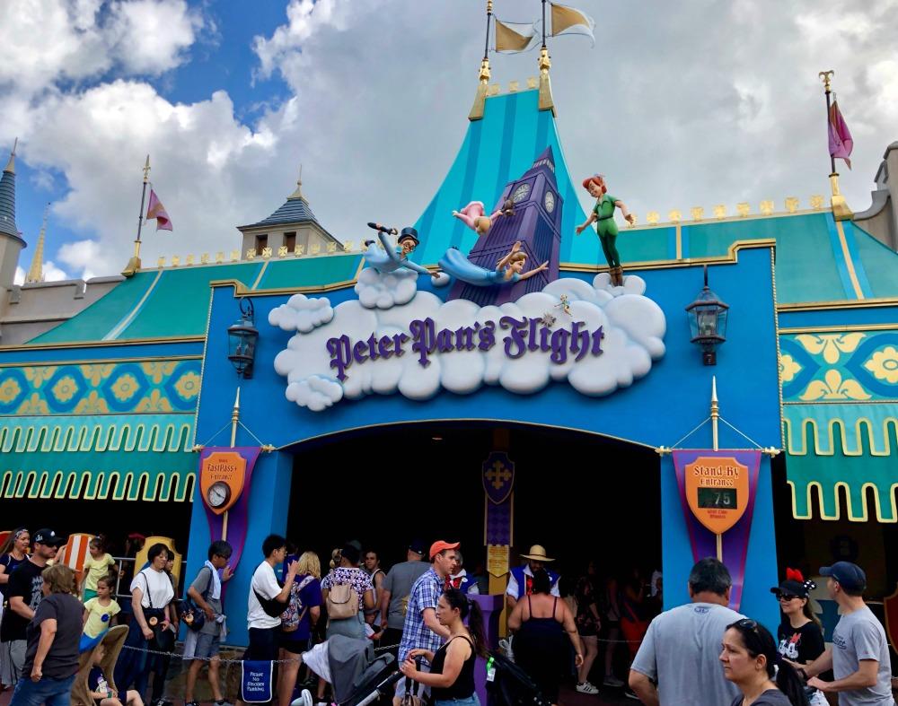 Peter Pans Flight in Walt Disney Worlds Magic Kingdom