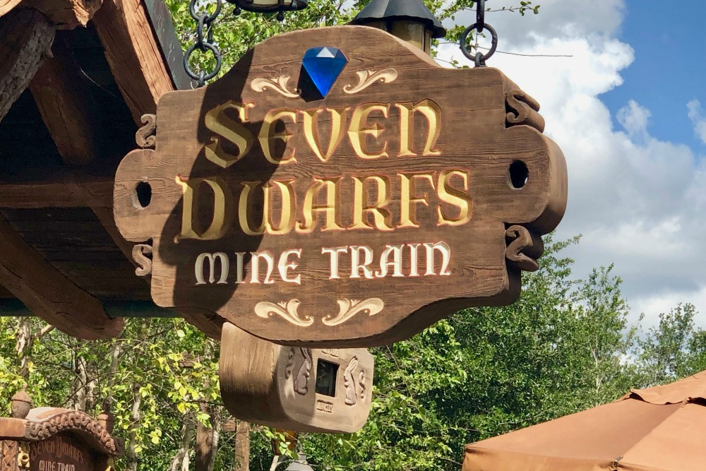 Seven Dwarfs Mine Train at Walt Disney Worlds Magic Kingdom