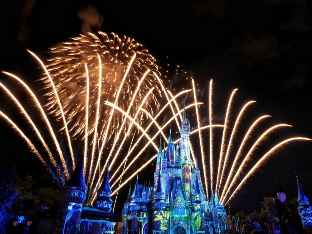 Walt Disney's Magic Kingdom Happily Ever After Fireworks Show
