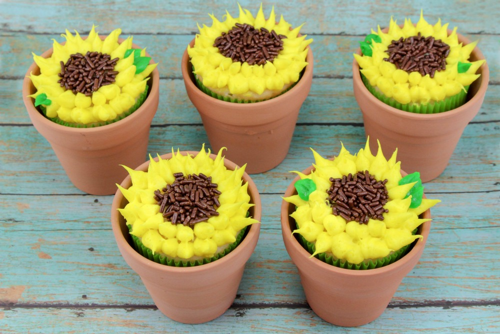 Sunflower Cupcakes Final 1