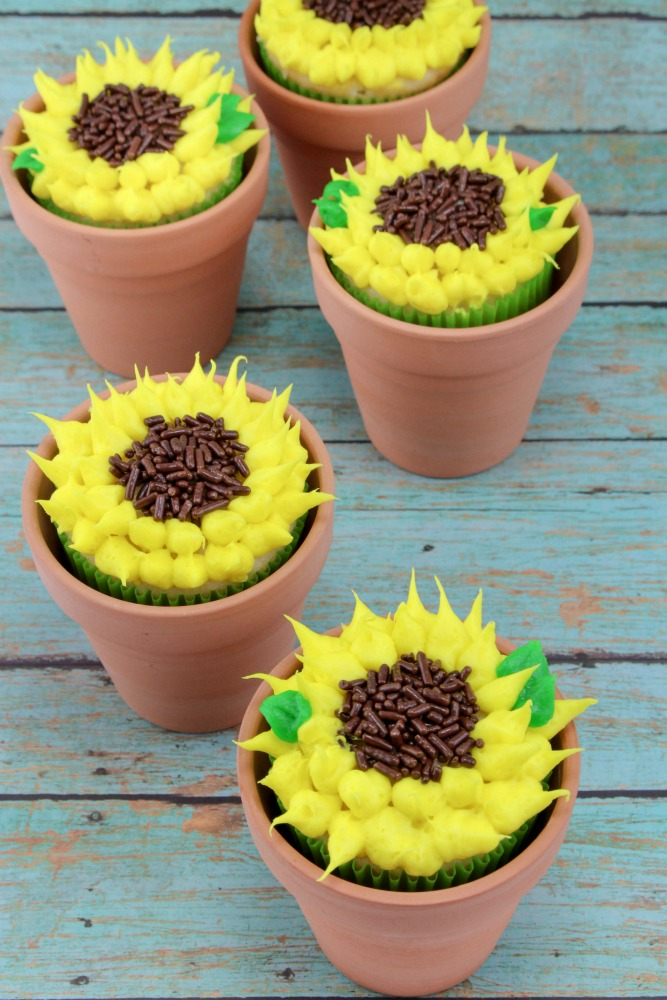 Sunflower Cupcakes Final 2
