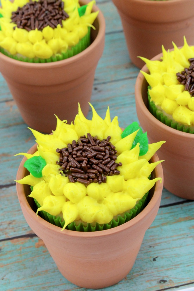 Sunflower Cupcakes Final 4