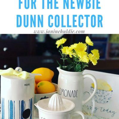 6 RAE DUNN TIPS for the Newbie Dunn Collector