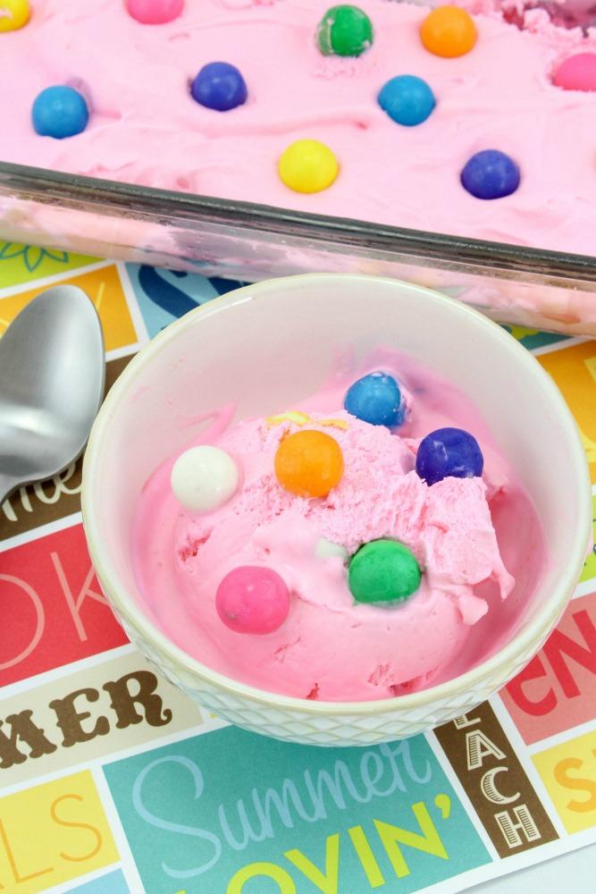 Bubblegum Ice Cream Recipe