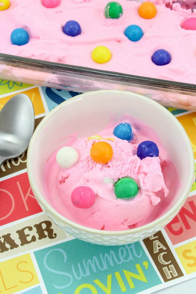 Bubblegum Ice Cream Recipe