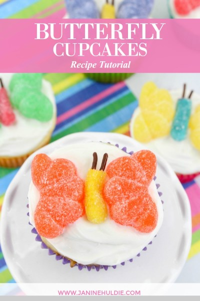Butterfly Cupcakes Recipe Featured Image