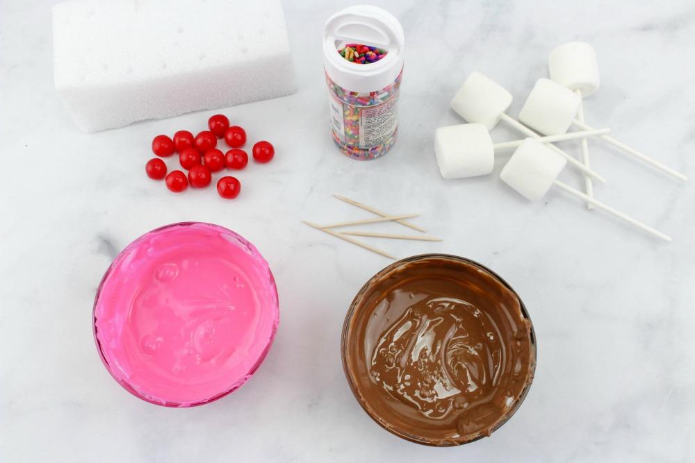 Sundae Marshmallow Pops In Process 2