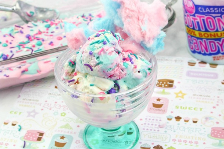 Cotton Candy Ice Cream Recipe
