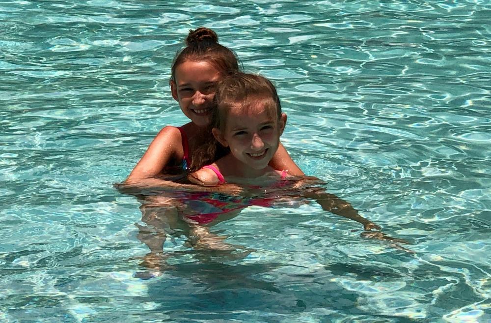 Disney Polynesian DVC Pool Time