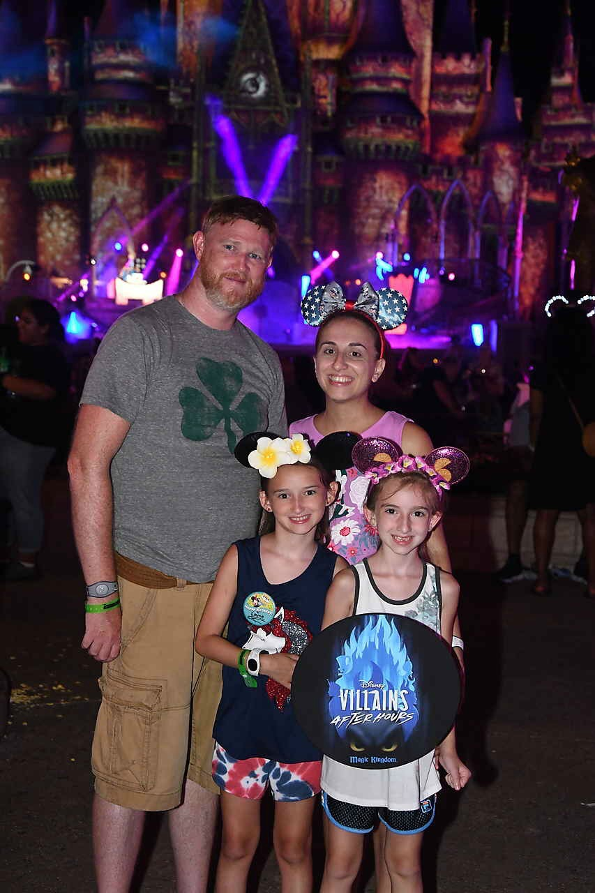 Walt Disney World Villains Night at Magic Kingdom