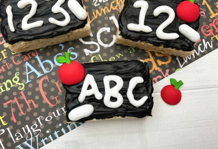 Chalkboard Rice Krispie Treats Recipe