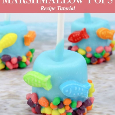 Under the Sea Marshmallow Pops Recipe Featured Image
