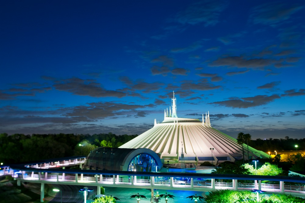 Space Mountain for Mickey's Not So Scary Halloween Party