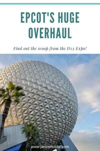 Epcot's Huge OverHaul - D23 EPCOT announcements