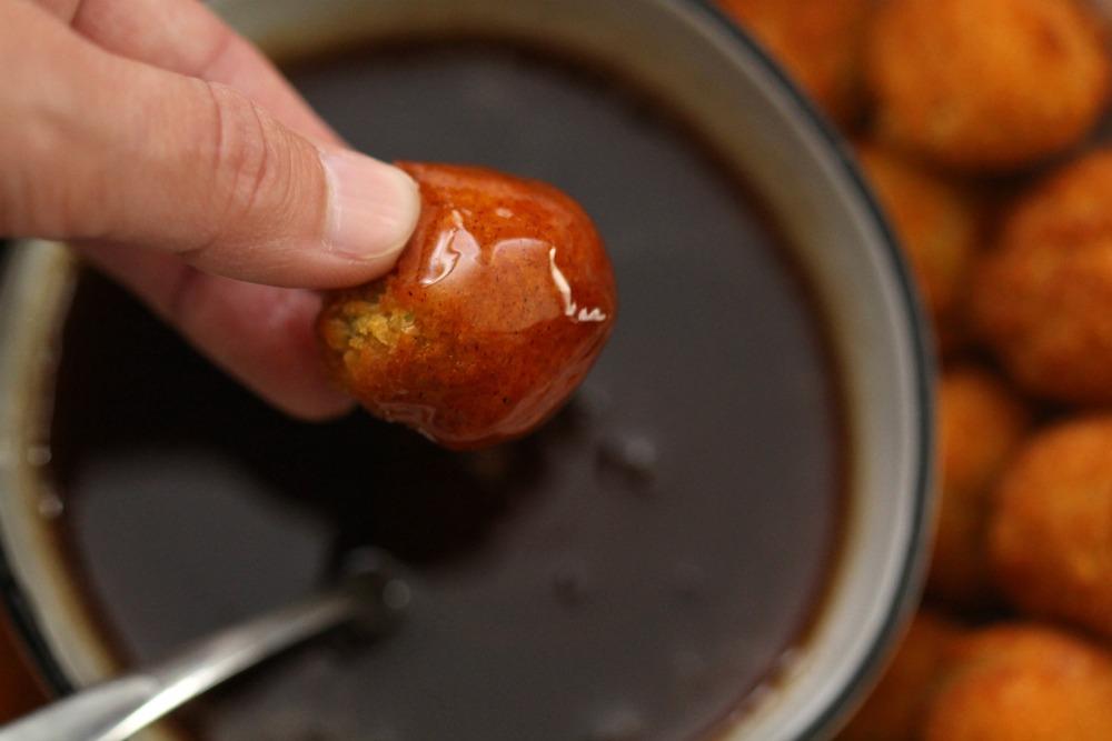 Maple Honey Cinnamon Dipping Sauce Dipped Veggie Tater
