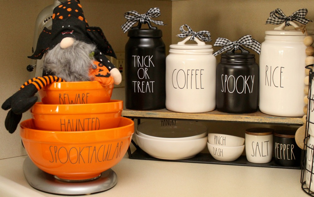 Rae Dunn Etsy Halloween Inspired Vinyl Decals Finished Product