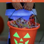 The Easiest DIY Duck Tape Glow in the Dark Candy Bucket