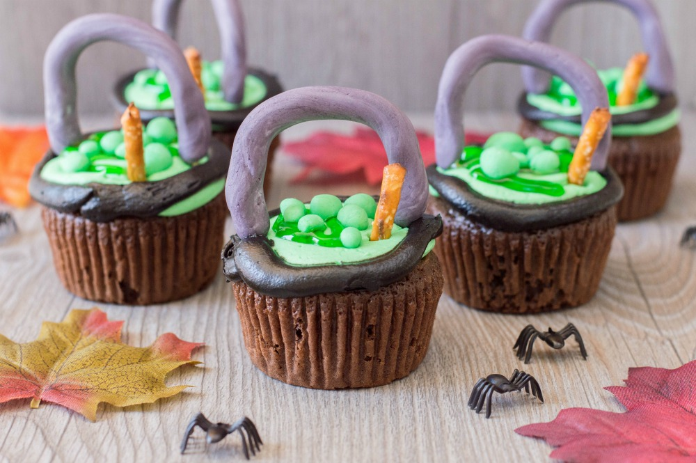 Witch Cauldron Cupcakes 3