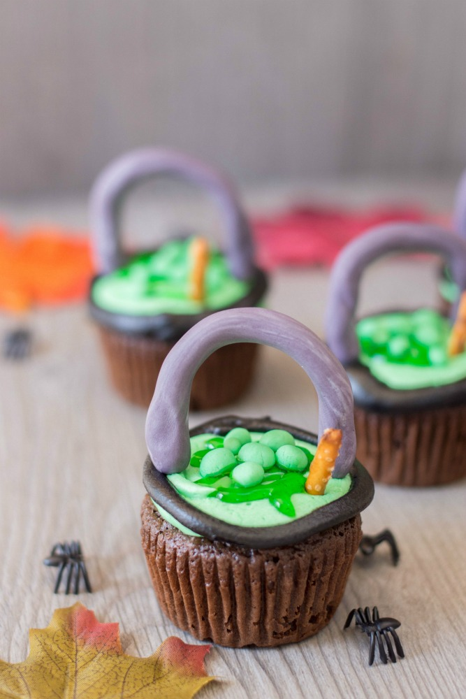Witch Cauldron Cupcakes 5