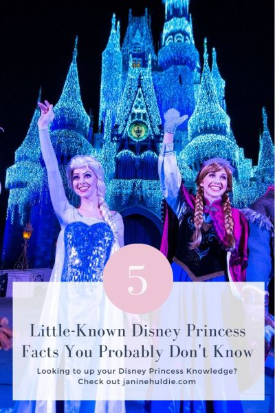 5 Little Known Disney Princess Facts