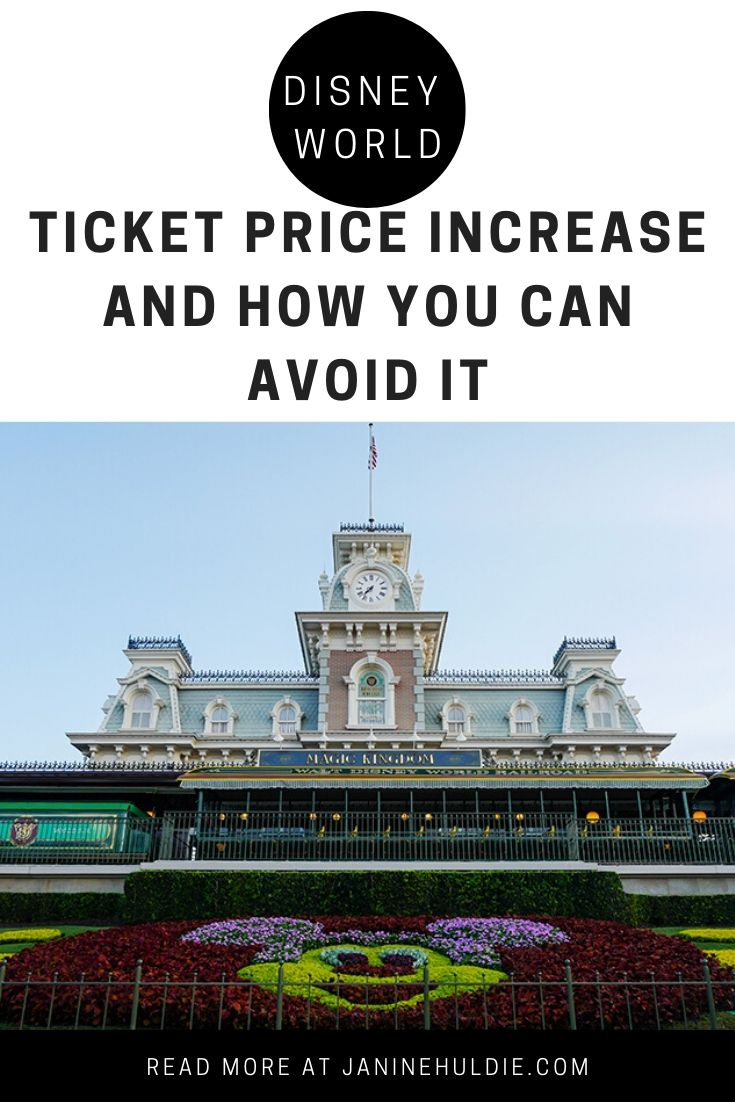 Disney World Ticket Price Increase and How to Avoid It